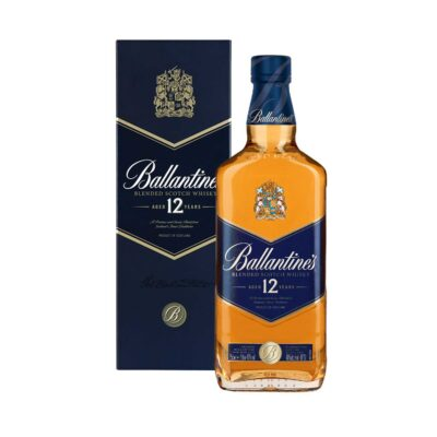 BALLANTINE'S 12 YEARS BLENDED SCOTCH WHISKY, 75CL