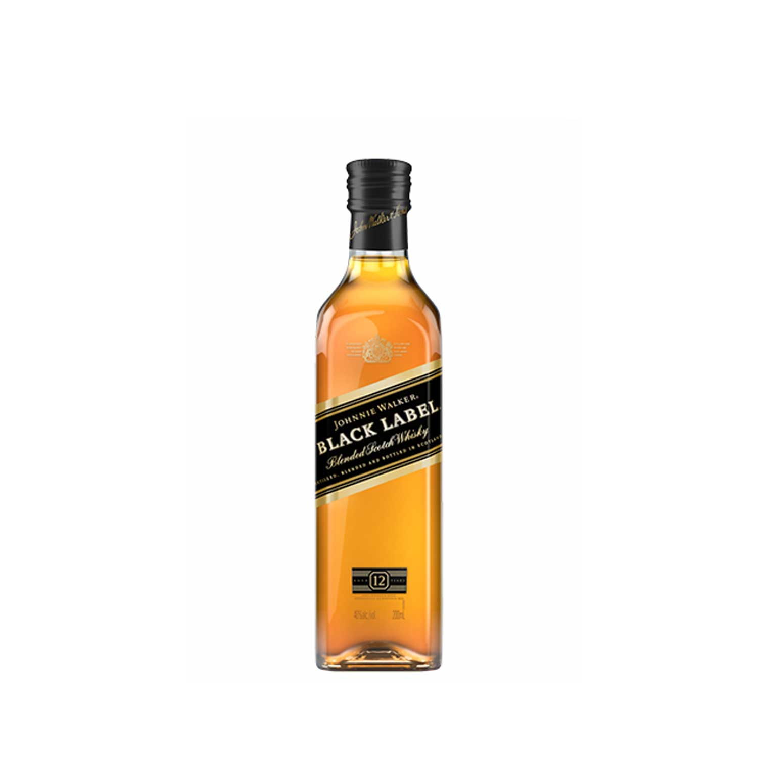 JOHNNIE WALKER BLACK LABEL, 20CL